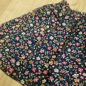 Girls Floral Skirt - Sz 2 Years
